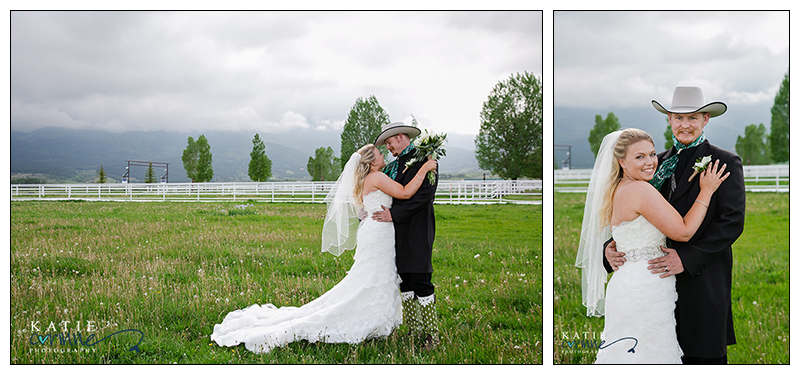 Tray Amp Courtney S Western Westcliffe Ranch Wedding Katie