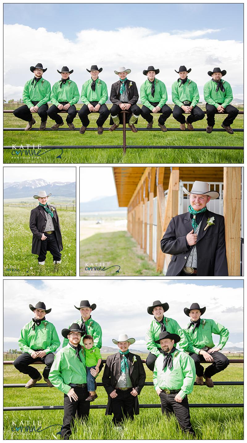Wild Rags On Groomsmen Duster Groom Attire Tux Cowboys Wedding Day