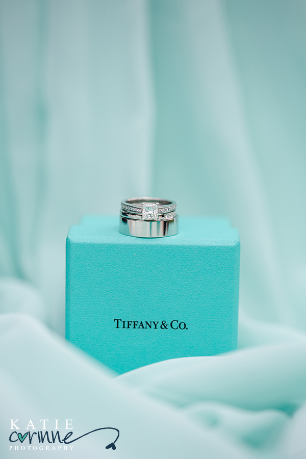 Spruce Mountain Ranch Colorado Wedding, Rustic mountain wedding, Katie Corinne Photography, stunning tiffany engagment and wedding band, mint green wedding colors
